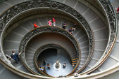 Vatican. A double spiral staircase — Stock Photo
