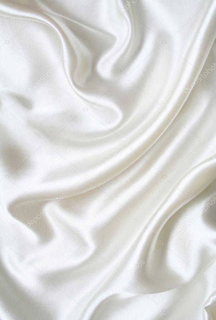 Image Gallery White Silk