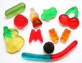 Caramelo de la jalea coloridas — Foto de Stock