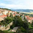 Italy. Tuscany. Panorama of Cortona - Stock Photo