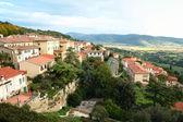 Italy. Tuscany. Panorama of Cortona — Stock Photo