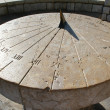 Foto Stock: Spain. Tarragona. Ancient sundial