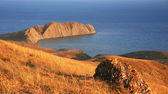 Ukraine. Crimea. Koktebel. Coastline of — Stock Photo
