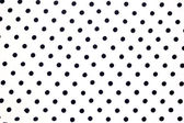 White fabric with black dots can use as — Stock Photo