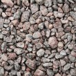 Gravel texture as background - Stock Photo