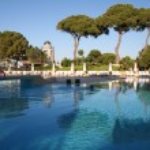 Turkey. Antalya. Pool in the hotel — Stock Photo #1216261