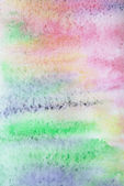Abstract watercolor background on paper — Stock Photo