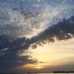 Crimea. Sunset on Black sea — Stock Photo #1274970