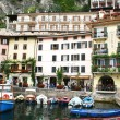 Italy. Lake Garda. Limone sul Garda town — Stock Photo