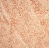 Beige velvet fabric as background — Stock Photo