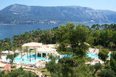 Greece. Corfu. Hotel — Stock Photo