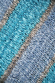 Blue and azure knitted fabric background — Stock Photo