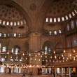 Turkey. Istanbul. Blue mosque — Stock Photo