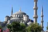Turkey. Istanbul. Blue mosque. Summer — Stock Photo