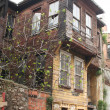 Turkey. Istanbul. The old house - Stock Photo