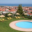 Stock Photo: Greece. Halkidiki. Pool of hotel