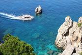 Grecia. corfù, paleokastrica, costa — Foto Stock