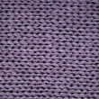 Lilac knitted textured background — Stock Photo
