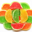 Colorful Jelly Candy as Background — Stock Photo