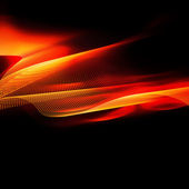 Fiery abstraction — Stock Photo