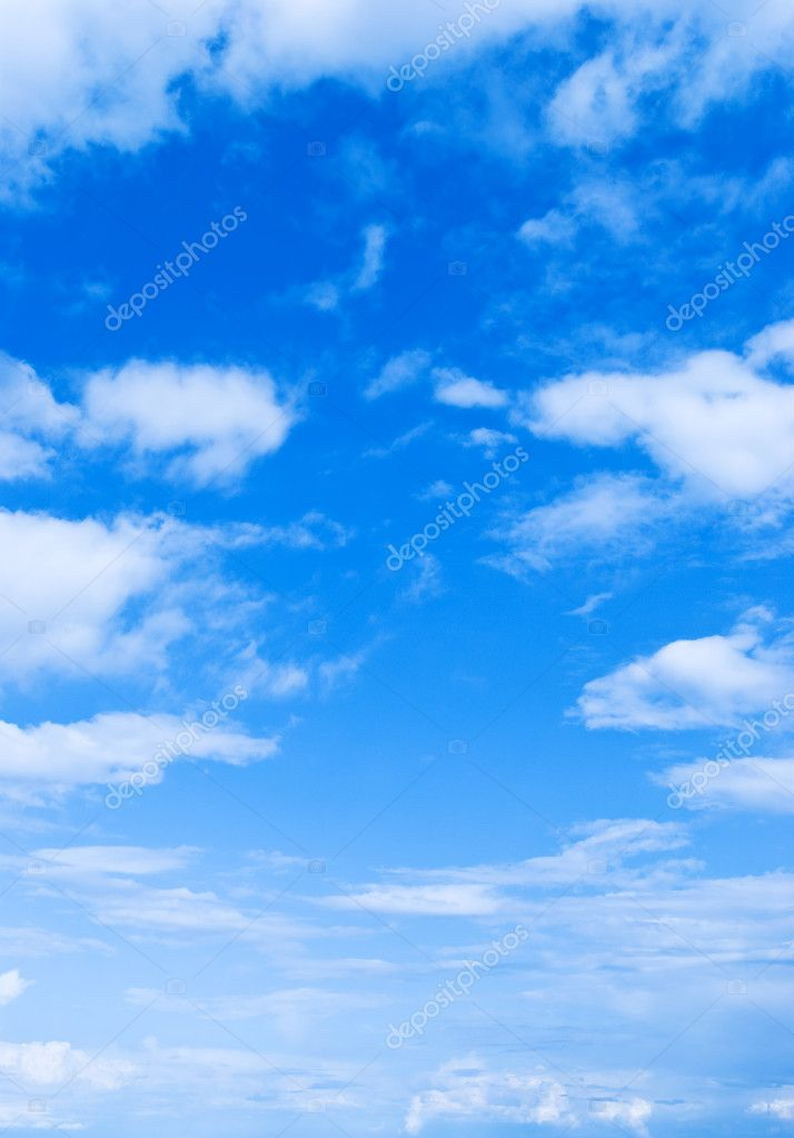 The sky in the afternoon in sunny weathe — Stock Photo #1154514