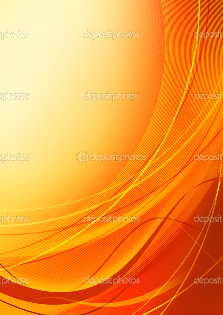 Abstract orange background with copy space  Stock Photo #1167521