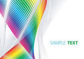 Abstract iridescent shape — Stock Vector