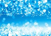 Blue glitter circles — Stock Photo