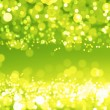 Green shiny circles — Stock Photo