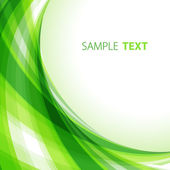 Green abstract background — Vector de stock