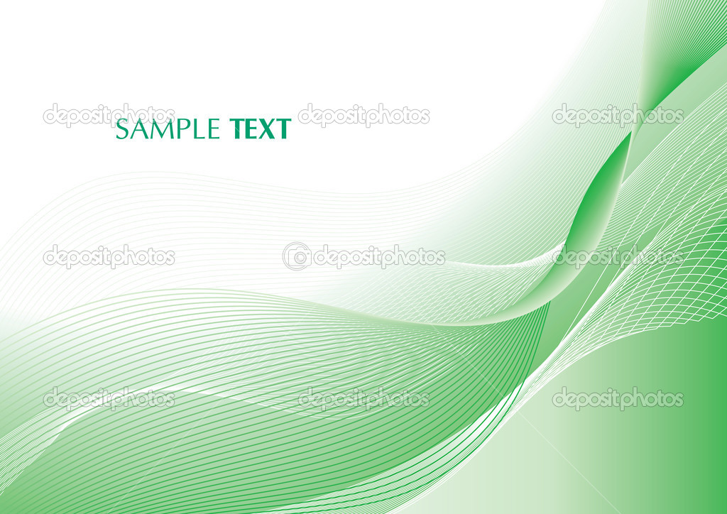 Abstract light green background with copy space — Stock Vector #1292513