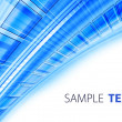 blue techno background — Stock Photo
