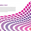 Purple perspective background - Stock Vector