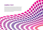 Purple perspective background — Stock Vector