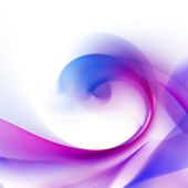 Violet wave — Stock Photo