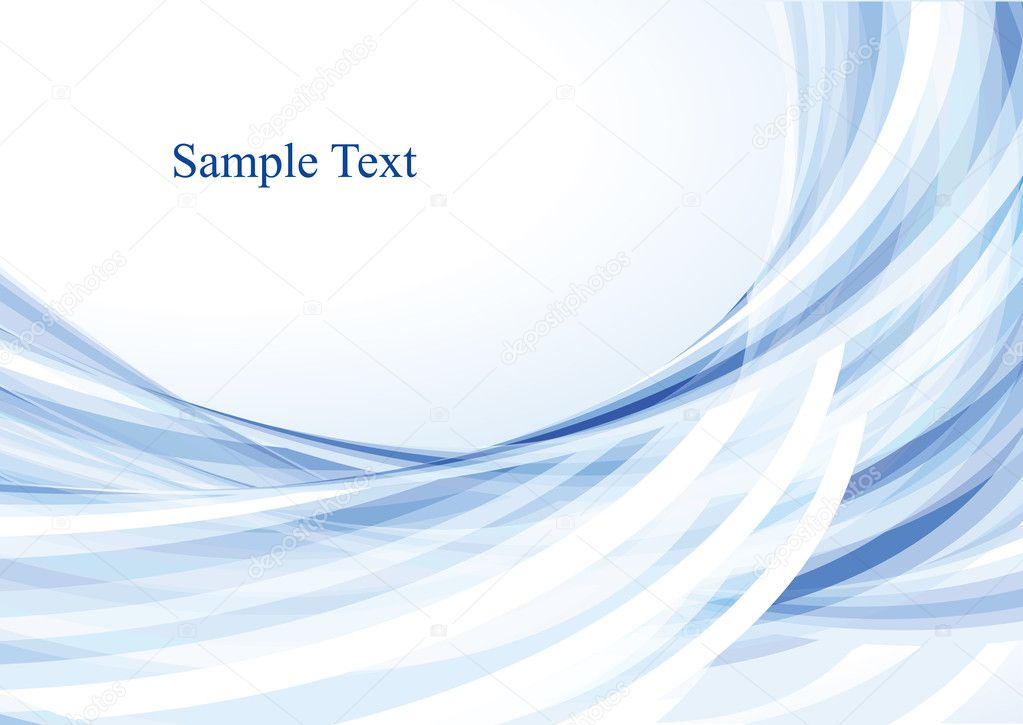 Light blue abstract background. Vector  Stock Vector #1359641