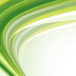 Green template — Stock Vector