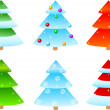 Royalty-Free Stock Vektorfiler: Christmas trees