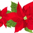 Royalty-Free Stock 矢量图片: Christmas decoration poinsettia