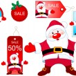 Christmas design elements — Imagen vectorial