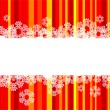 Christmas Background with snowflake — Stock Vector #1147266