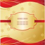 Cartolina di Natale — Vettoriale Stock