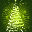 Vector de stock : Christmas tree