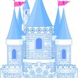 Royalty-Free Stock Vector Image: Romantic Castle