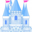 Royalty-Free Stock Imagem Vetorial: Romantic Castle