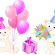 Royalty-Free Stock Imagen vectorial: Teddy Bears
