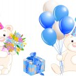 Teddy Bears - Stock Vector
