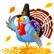 Royalty-Free Stock Vektorfiler: Pilgrim Turkey