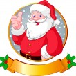 Christmas Santa — Stock Vector #1193970