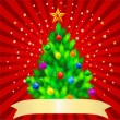 Kerstboom — Stockvector #1194179